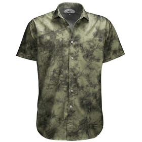 Loose Riders C/S SS Shirt Men, tie dye army